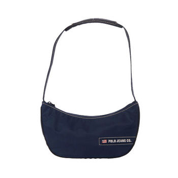RL POLO 輕巧時尚肩背包(藍)