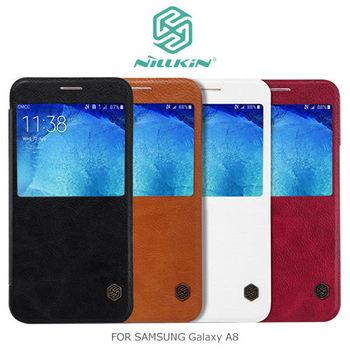 NILLKIN Samsung Galaxy A8 秦系列側翻皮套
