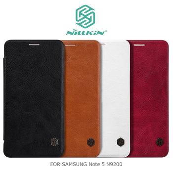 NILLKIN Samsung Note 5 N9200 N9208 秦系列側翻皮套