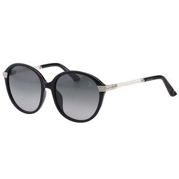 SWAROVSKI 水鑽 太陽眼鏡(黑色)