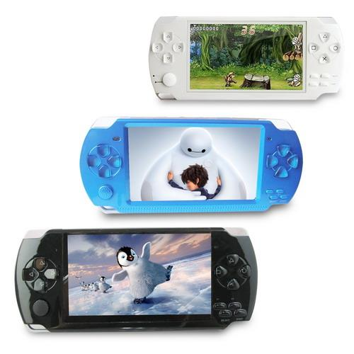 DW-C02影音戰鬥款4.3吋遊戲MP5播放器(內建8GB)(加贈5大好禮)