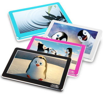 DW-C04時尚金屬框4.3吋觸控螢幕MP5(內建8GB)(加贈5大好禮)