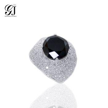 【晉佳珠寶】Gemdealler Jewellery 天然南非 硬派個性黑鑽男戒10.5ct