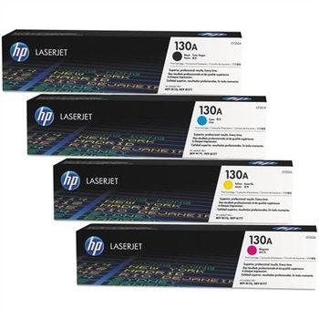 HP CF350A CF351A CF352A CF353A 原廠碳粉匣四色一組( 黑、藍、黃、紅)