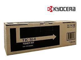 Kyocera TK-164 原廠黑色碳粉匣