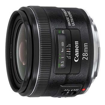 Canon EF 28mm f/2.8 IS USM 鏡頭 (公司貨)