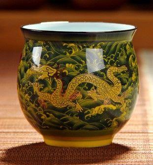 (黃海浪 )青花瓷不燙手茶杯