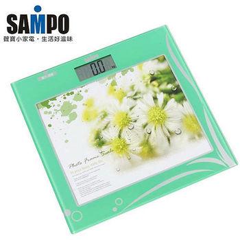 【SAMPO聲寶】相框時鐘電子體重計BF-L1108ML