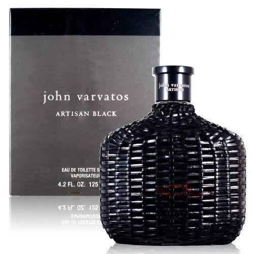 John Varvatos Artisan BLACK 黑工匠藤編限量版男性淡香水 125ml