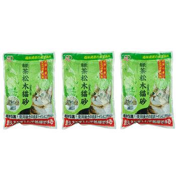 【IRIS】日本 綠茶松木貓砂(YGMC-50) 5L X 3包入