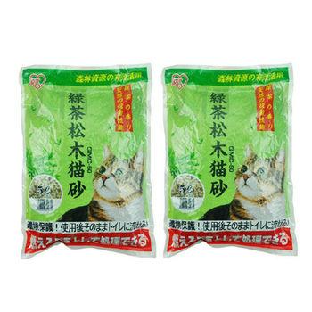 【iris】日本 绿茶松木猫砂(ygmc-50) 5l x 2包入