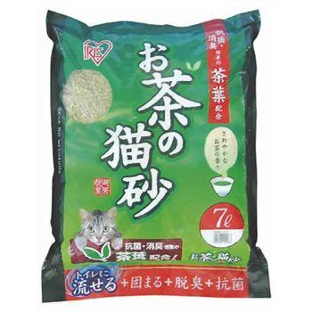 【IRIS】日本 天然綠茶茶葉豆腐貓砂(OCN-70) 7L X 1包
