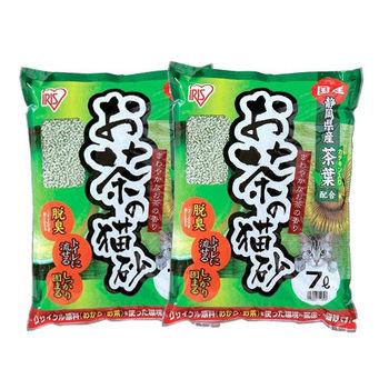 【IRIS】日本 靜岡綠茶豆腐貓砂(OCN-70N) 7L X 2包