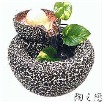 【陶之戀】圓滿虫6cm流水盆