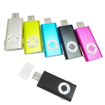 A24長條可夾 插卡式MP3隨身聽(加16G記憶卡) 加送4大好禮