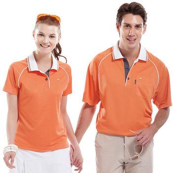 【SPAR】吸濕排汗女版短袖POLO衫(SP74789)鮮桔色