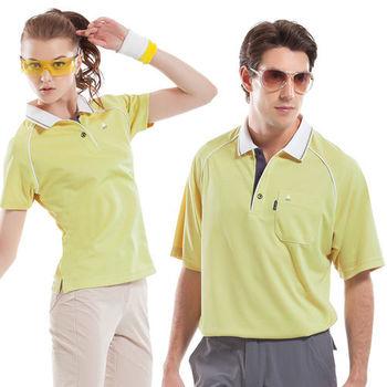 【SPAR】吸濕排汗女版短袖POLO衫(SP74780)檸檬色