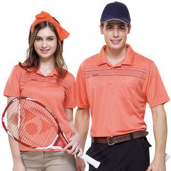 【SPAR】吸濕排汗女版短袖POLO衫(SP73593)朱雀紅色