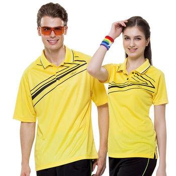 【SPAR】吸濕排汗女版短袖POLO衫(SP73551)亮黃色