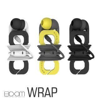 【BOOM】WRAP 運動防水時尚入耳式麥克風耳機(玩色系列)