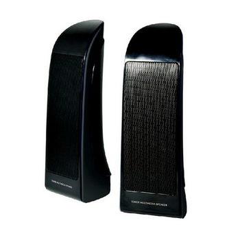 【KT】TOWER雙塔 二件式多媒體USB電源喇叭(KTSK2001BK)