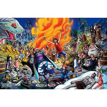 【ONE PIECE-航海王拼圖】海賊王-海賊王的盛宴1000pcs ES1000-354