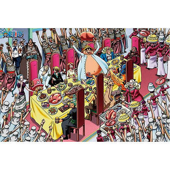 【ONE PIECE-航海王拼圖】海賊王-海賊王的饗宴1000pcs ES1000-353