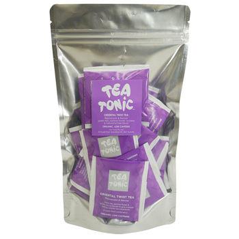 Tea Tonic澳洲茶 東方茉莉荔枝綠茶茶包20入(低咖啡因)