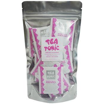 Tea Tonic澳洲茶 玫瑰花瓣白茶茶包組20入(低咖啡因)