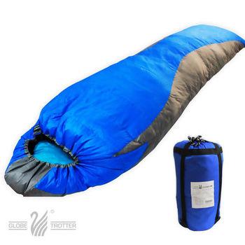 【遊遍天下】保暖防風防潑水羽毛絨睡袋F1000-3_1.75KG(顏色隨機)