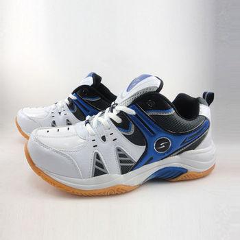[PROMARKS]男輕量夜光羽網球鞋-MKS3520