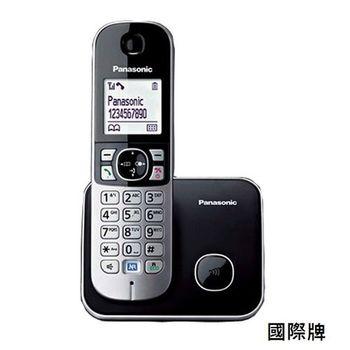 【國際牌Panasonic】中文顯示數位電話機(黑) KX-TG6811