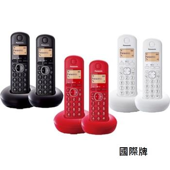 【Panasonic國際牌】DECT數位無線電話 KX-TGB212TW(3色)