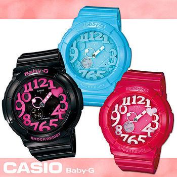 【CASIO 卡西歐 Baby-G 系列】舞會/Party/耶誕指定造型款(BGA-130)