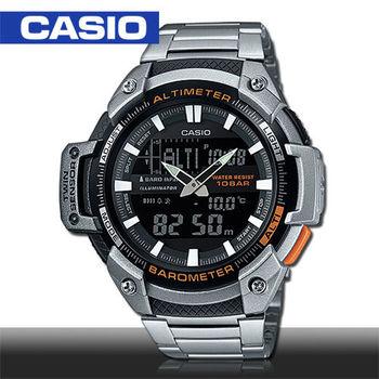 【CASIO 卡西歐】溫度_高度_氣壓_運動男錶(SGW-450HD)
