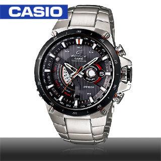 【CASIO 卡西歐 EDIFICE 系列】太陽能電力賽車計時腕錶(EQS-A1000DB)