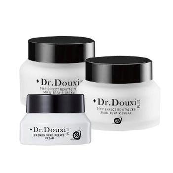 Dr.Douxi 朵璽 頂級修護蝸牛霜3件組(50g+15g)