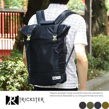 【TRICKSTER】日本品牌 後背包 電腦包 書包 B4 大容量 雙肩包 空氣包感 防水【tr1534】