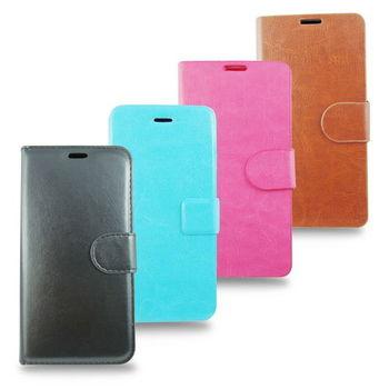 PH05瘋馬紋 iphone6 plus(5.5吋)手機皮套(加贈螢幕貼)