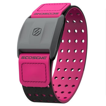 Scosche Rhythm+ 手臂式心跳帶 - 粉紅色