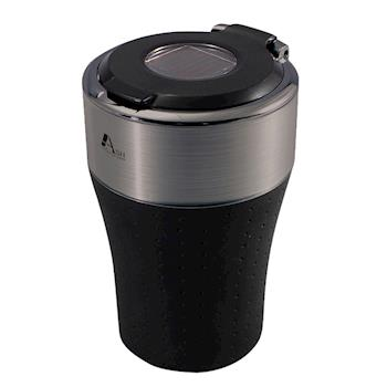 YAC高質感金屬絲紋LED菸灰缸( PZ-705)