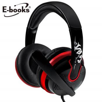 E-books S27 電競頭戴耳機麥克風