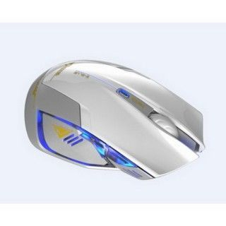 【E-BLUE】六鍵式光學電競鼠●魅影狂蛇升級版(白蛇)