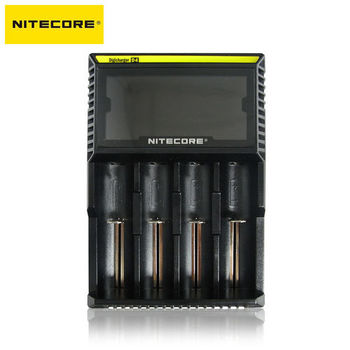 【NITECORE】D4微電腦控制全智能液晶電池充電器