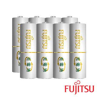 【日本Fujitsu富士通】低自放電充電電池組(3號8入)