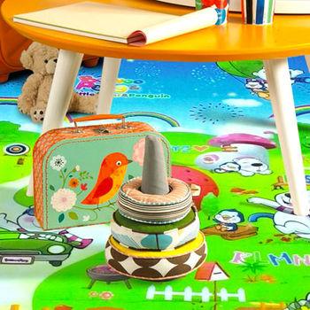 范登伯格 珍珠棉爬行遊戲墊-彩虹橋-100x180cm