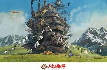 【宮崎駿系列拚圖】霍爾的移動城堡 1000pcs ES1000-258