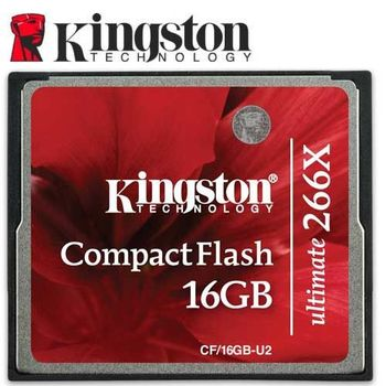 Kingston 金士頓 16GB CF 266X 記憶卡