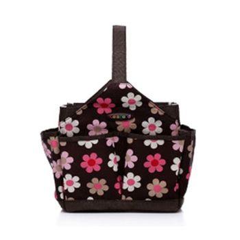 Colorland手提收納袋-袋中袋(法國小花)