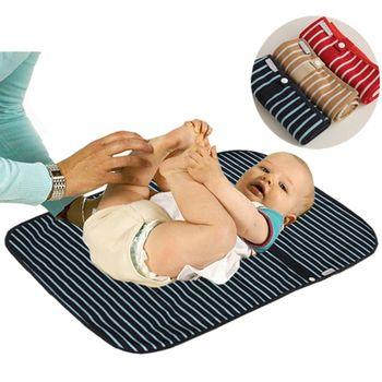 嬰兒防水尿布墊隔尿墊(卡其)